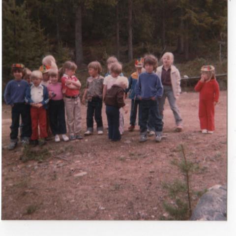 Utflykt till Sottjärn med söndagsskolan år 1982?