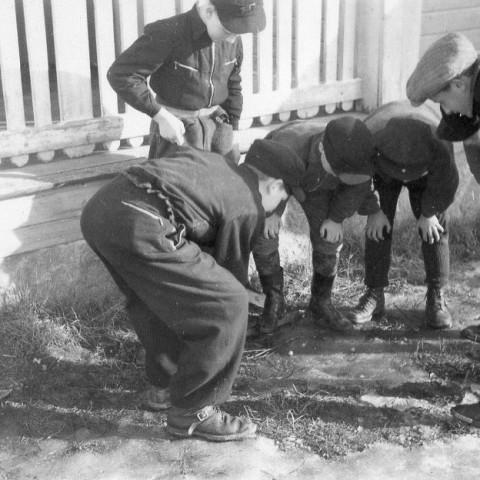 Vid Flataskola 1944