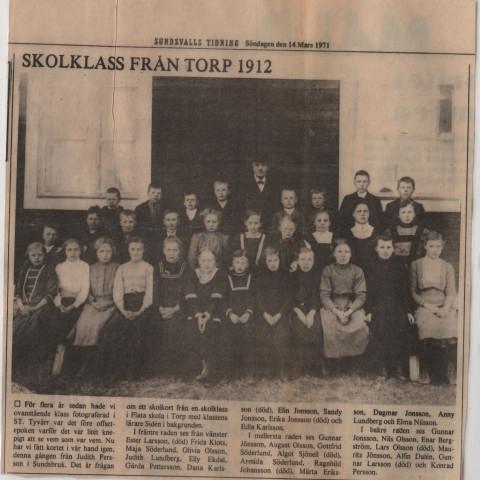 Flataskola 1912